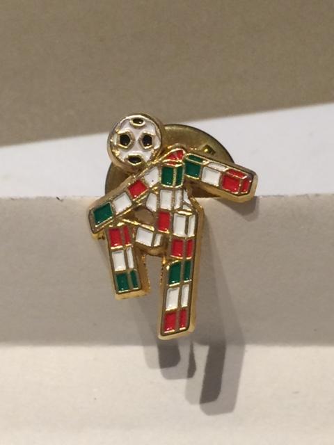 """Pin spilla """"Ciao"""", la mascotte dei Campionati del Mondo di Calcio Italia 1990 - 1 -"""