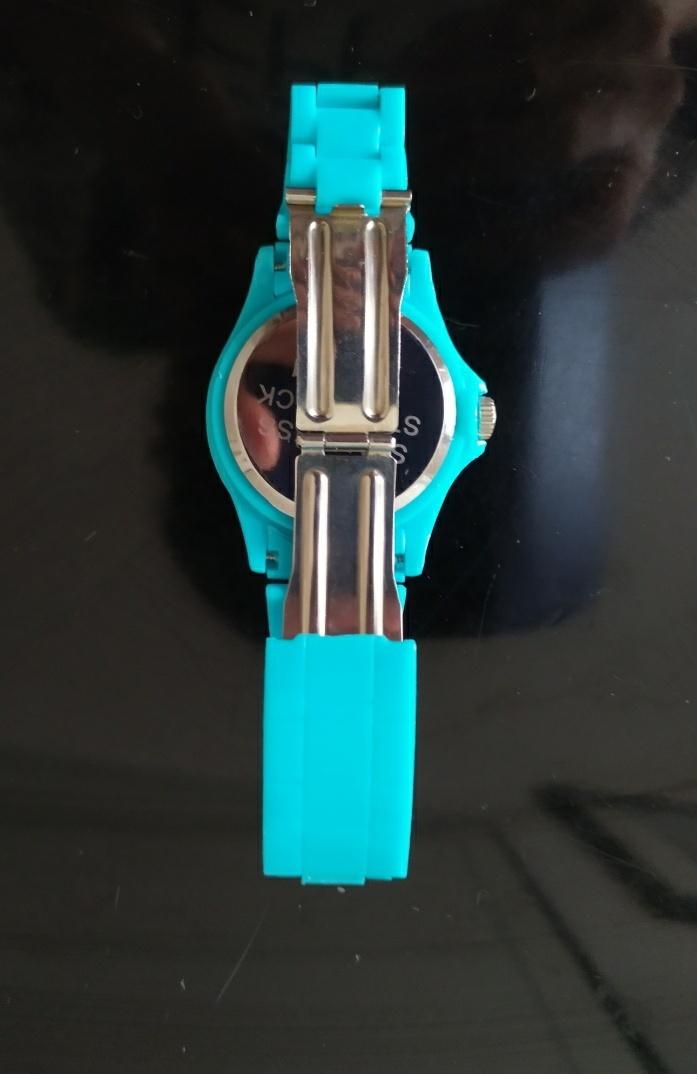 Bracciale orologio con brillantini - 3 -