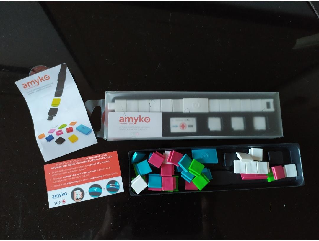 Amyko bracciale salvavita con tecnologia NFC - 3 -