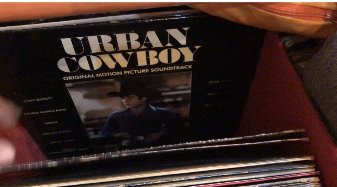 Sound track movie Urban cowboy disco Lp come nuovo - 1 -