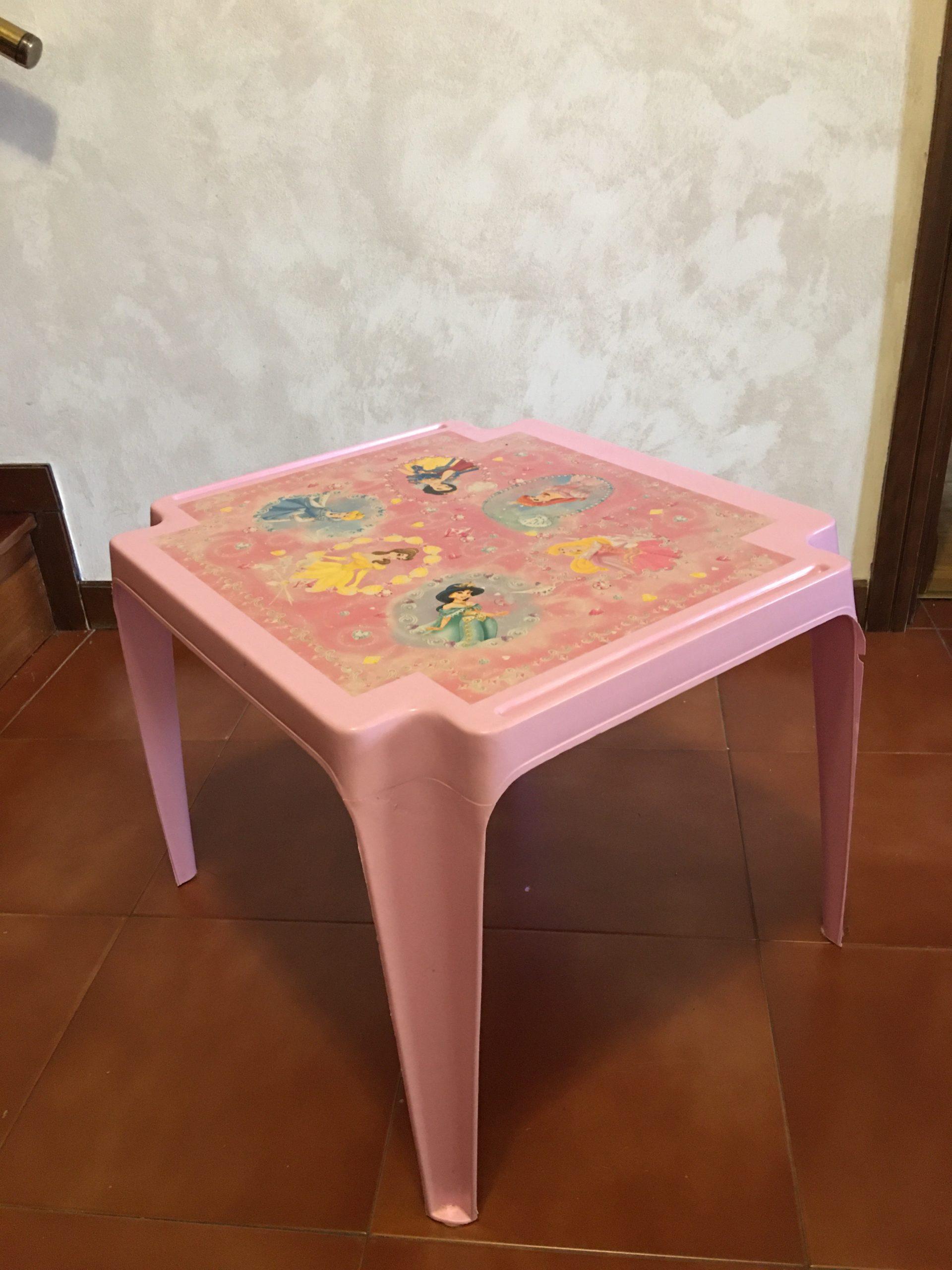 Tavolino per bimbi Principesse Walt Disney - 1 -