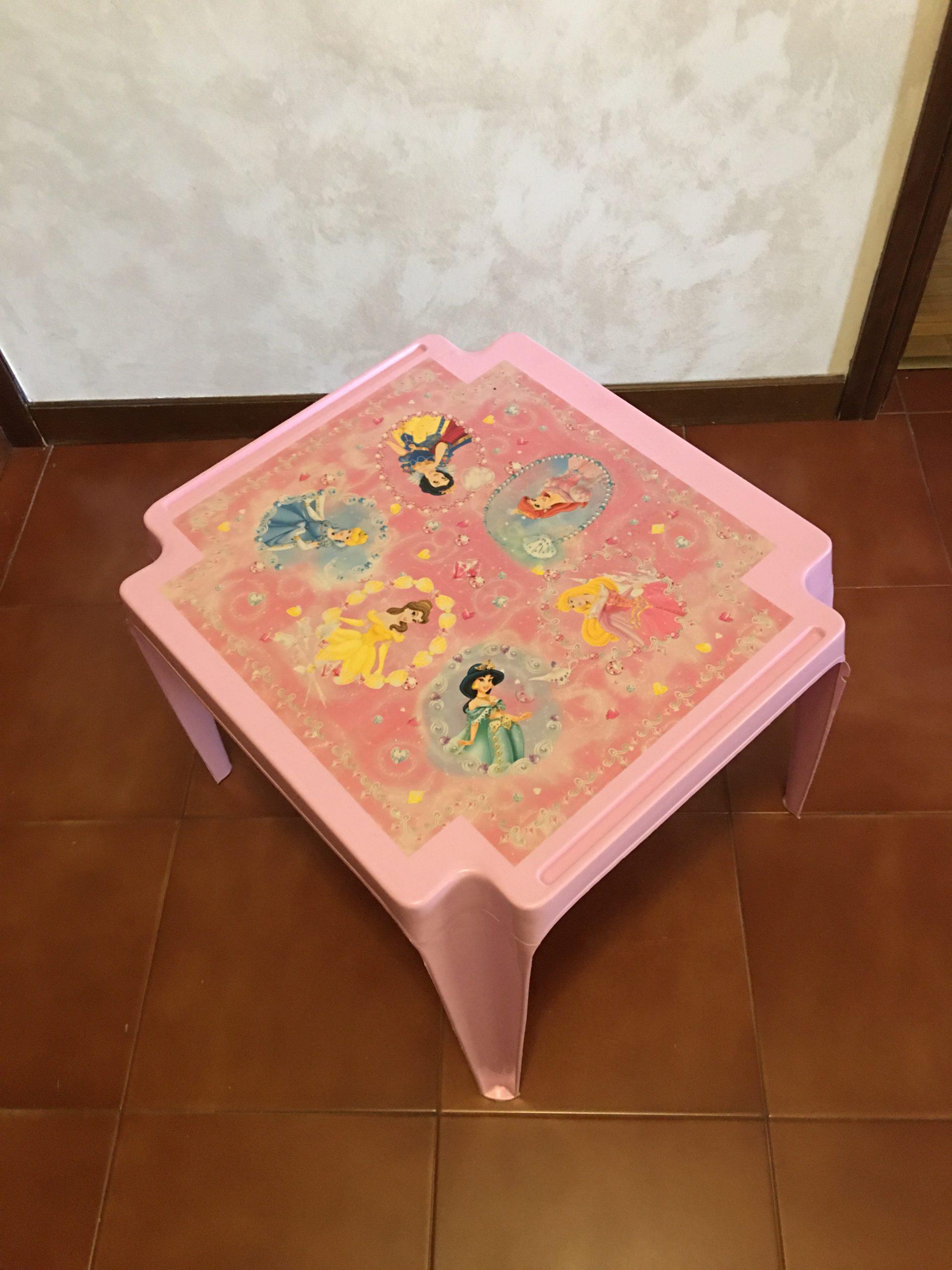 Tavolino per bimbi Principesse Walt Disney - 2 -