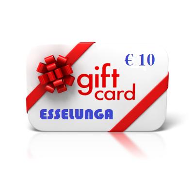 Giftcard 10€ - 8 giugno - 1 -